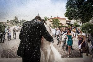 riso, matrimonio, sposi
