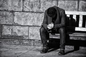 malessere, sfortuna, brutto periodo, tristezza
